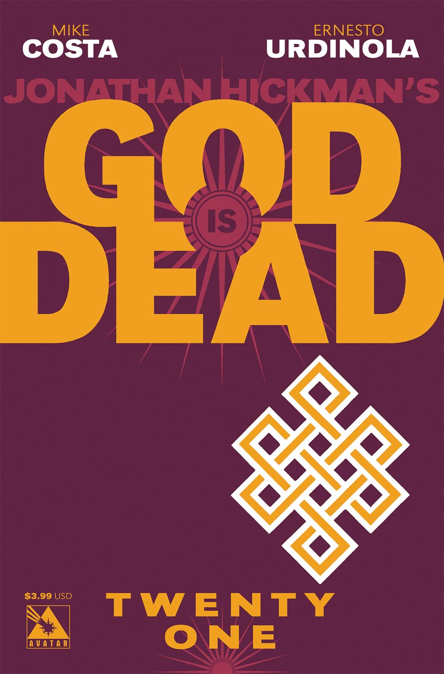 God Is Dead #21 Cover A Regular Cover