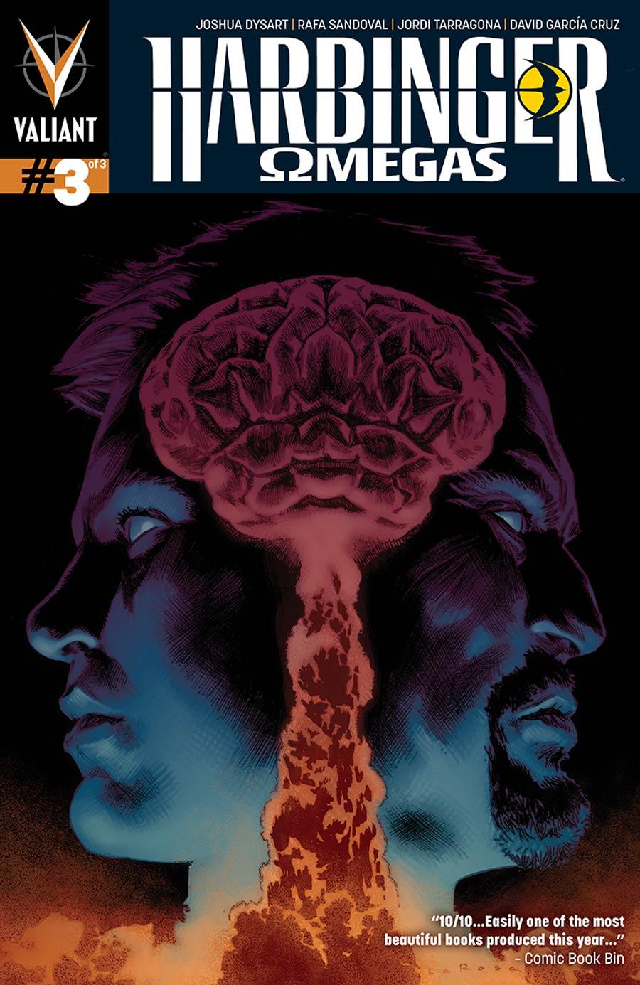 Harbinger Omegas #3 Cover A Regular Lewis LaRosa Cover