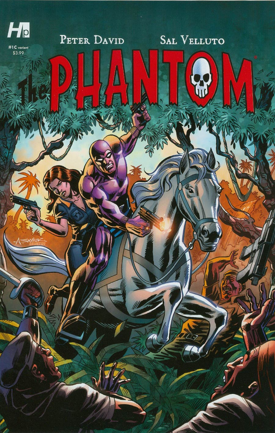 Phantom Vol 7 #1 Cover D Variant Alex Saviuk Cover