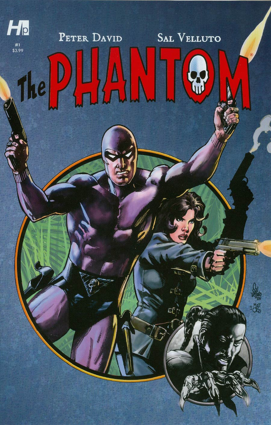 Phantom Vol 7 #1 Cover A Regular Sal Velluto Cover