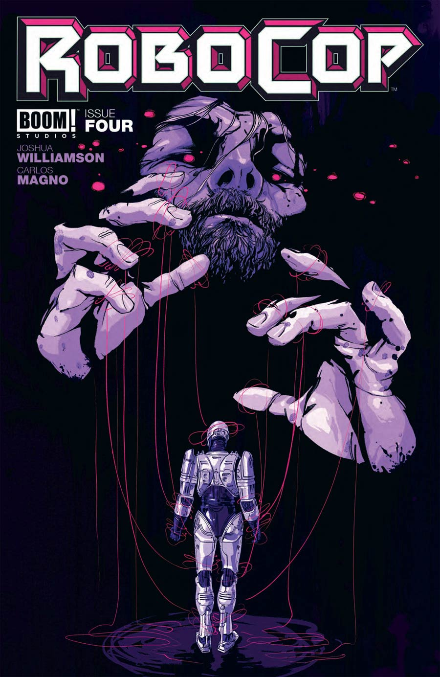 Robocop 2014 #4 Cover A Regular Goni Montes Cover