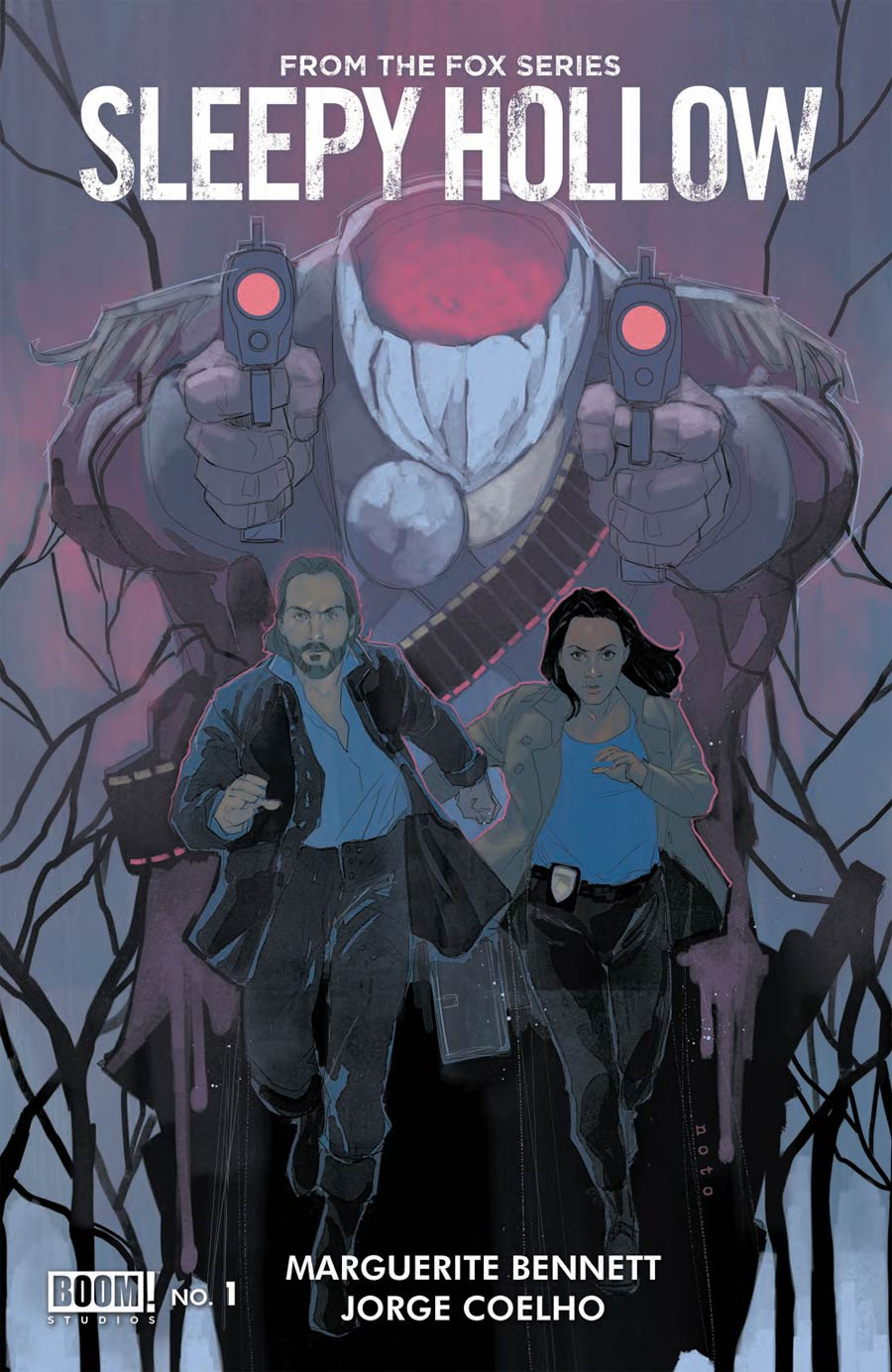 Sleepy Hollow #1 Cover A Regular Phil Noto Cover