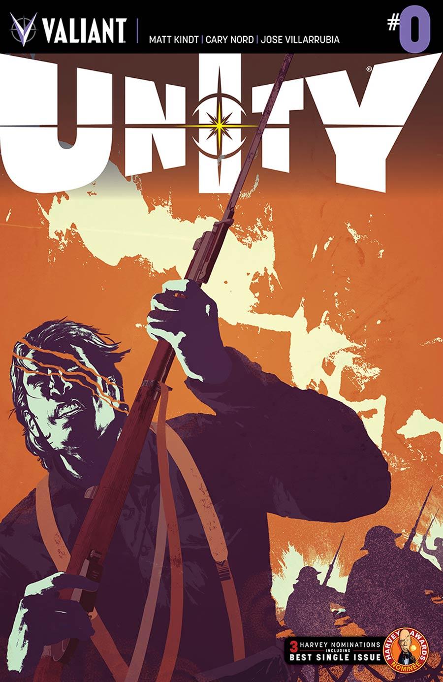Unity Vol 2 #0 Cover A Regular Raul Allen Cover
