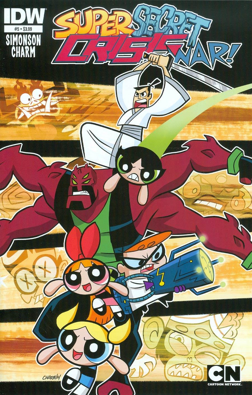 Cartoon Network Super Secret Crisis War #5 Cover A Regular Derek Charm Cover