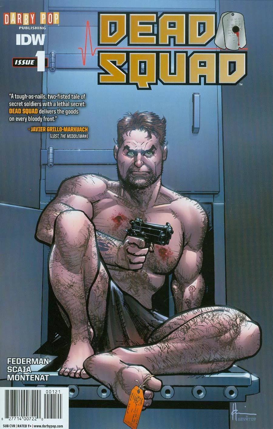 Dead Squad #1 Cover B Variant Howard Chaykin Subscription Cover