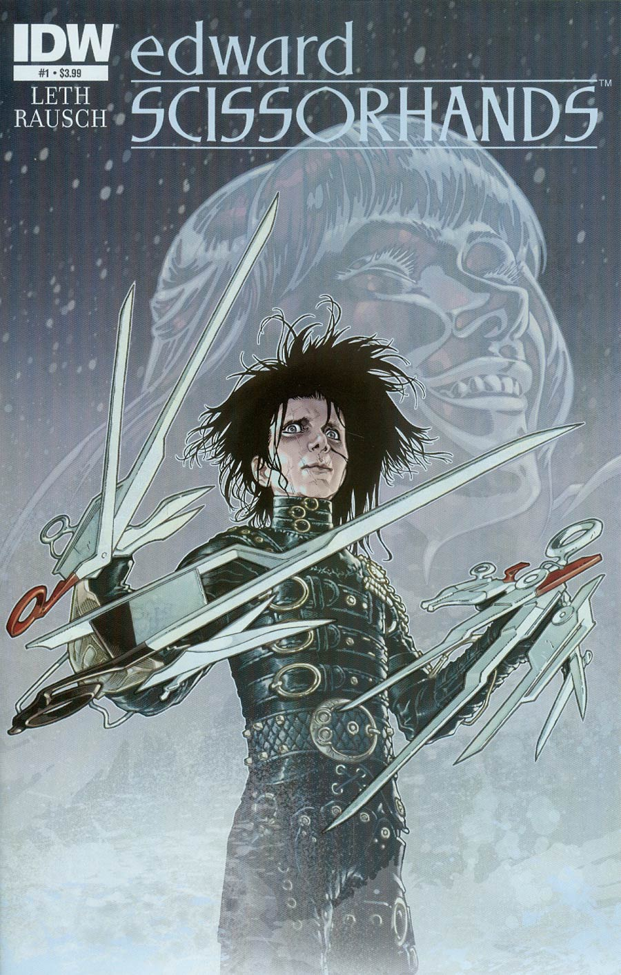 Edward Scissorhands #1 Cover A Regular Gabriel Rodriguez Cover