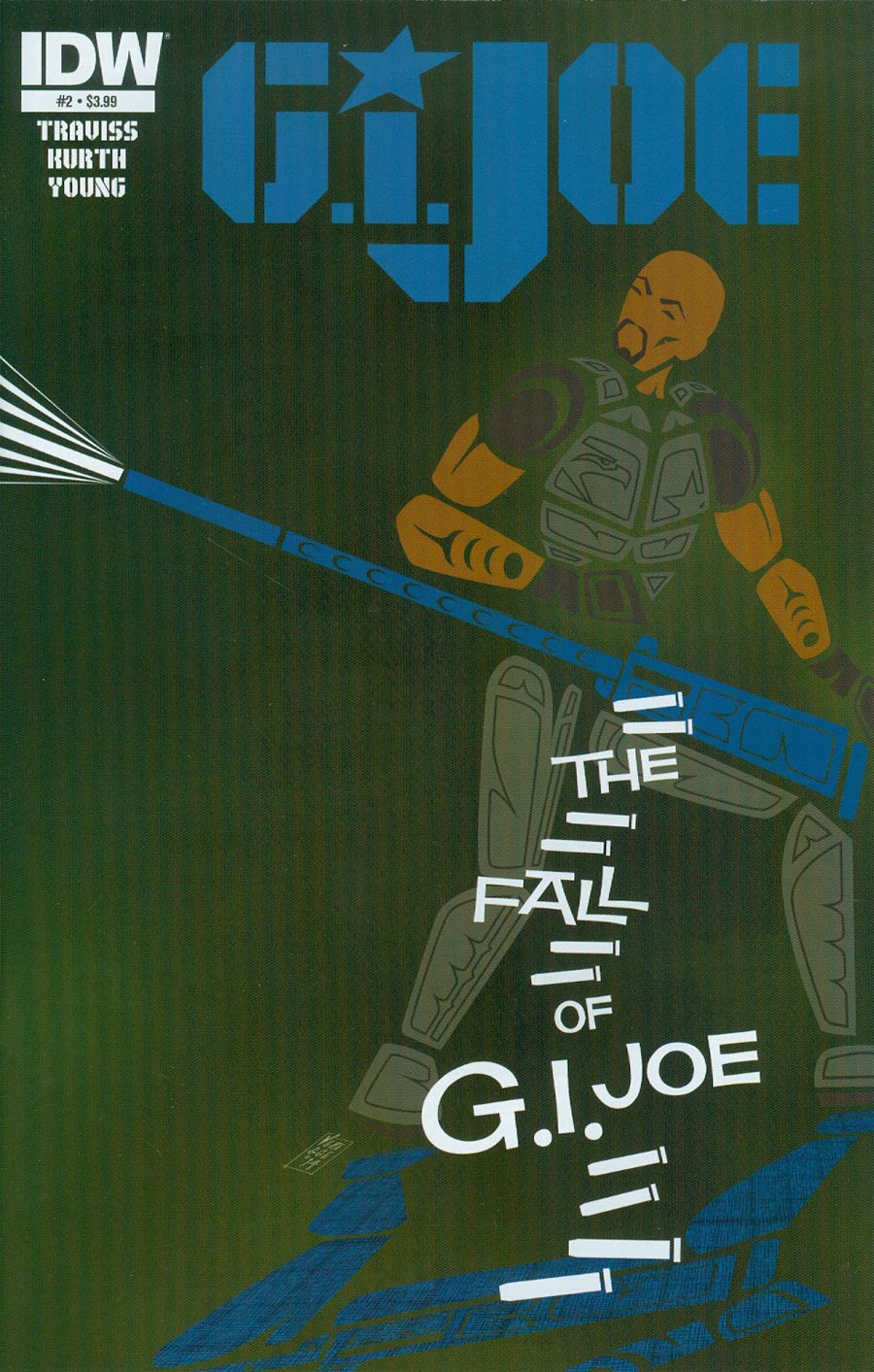 GI Joe Vol 7 #2 Cover A Regular Jeffrey Veregge Cover