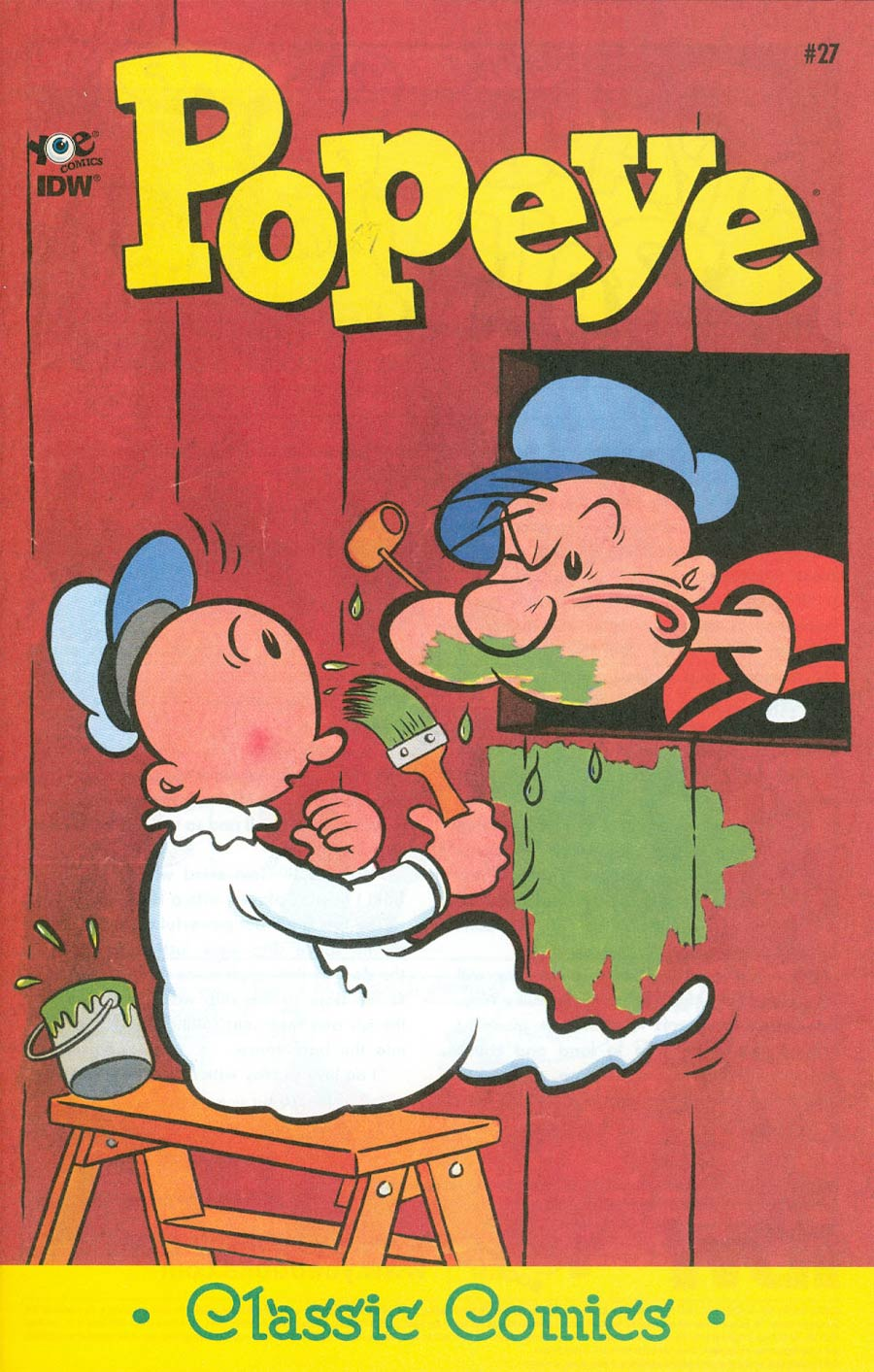 Classic Popeye #27 Cover A Regular Bud Sagendorf Cover
