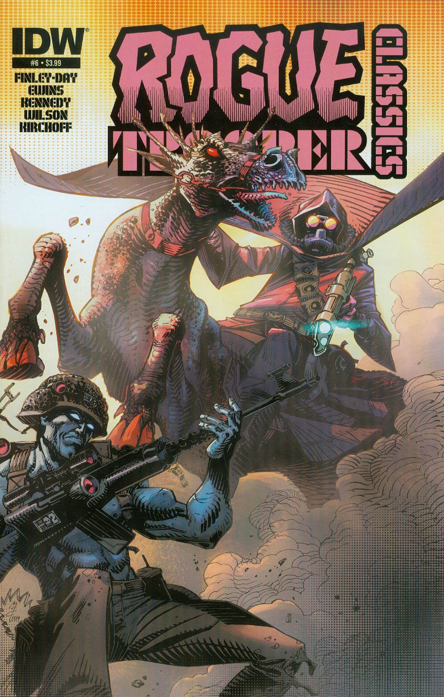Rogue Trooper Classics #6 Cover A Regular John McCrea Cover