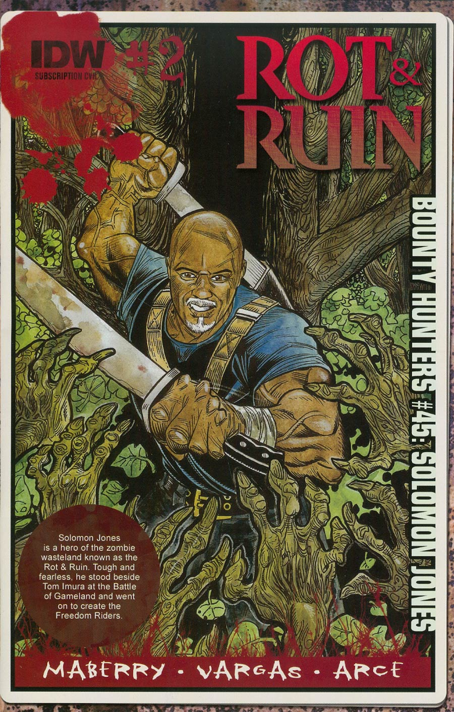 Rot & Ruin #2 Cover B Variant Robert Sacchetto Subscription Cover