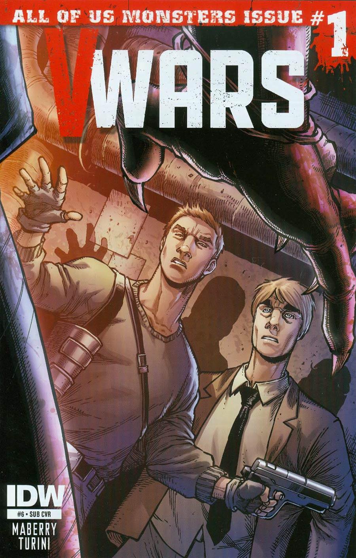 V-Wars #6 Cover B Variant Alan Robinson Subscription Cover