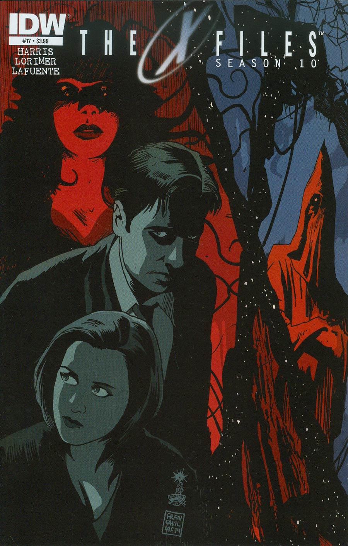 X-Files Season 10 #17 Cover A Regular Francesco Francavilla Cover