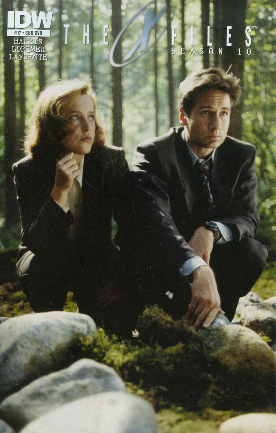 X-Files Season 10 #17 Cover B Variant Photo Subscription Cover
