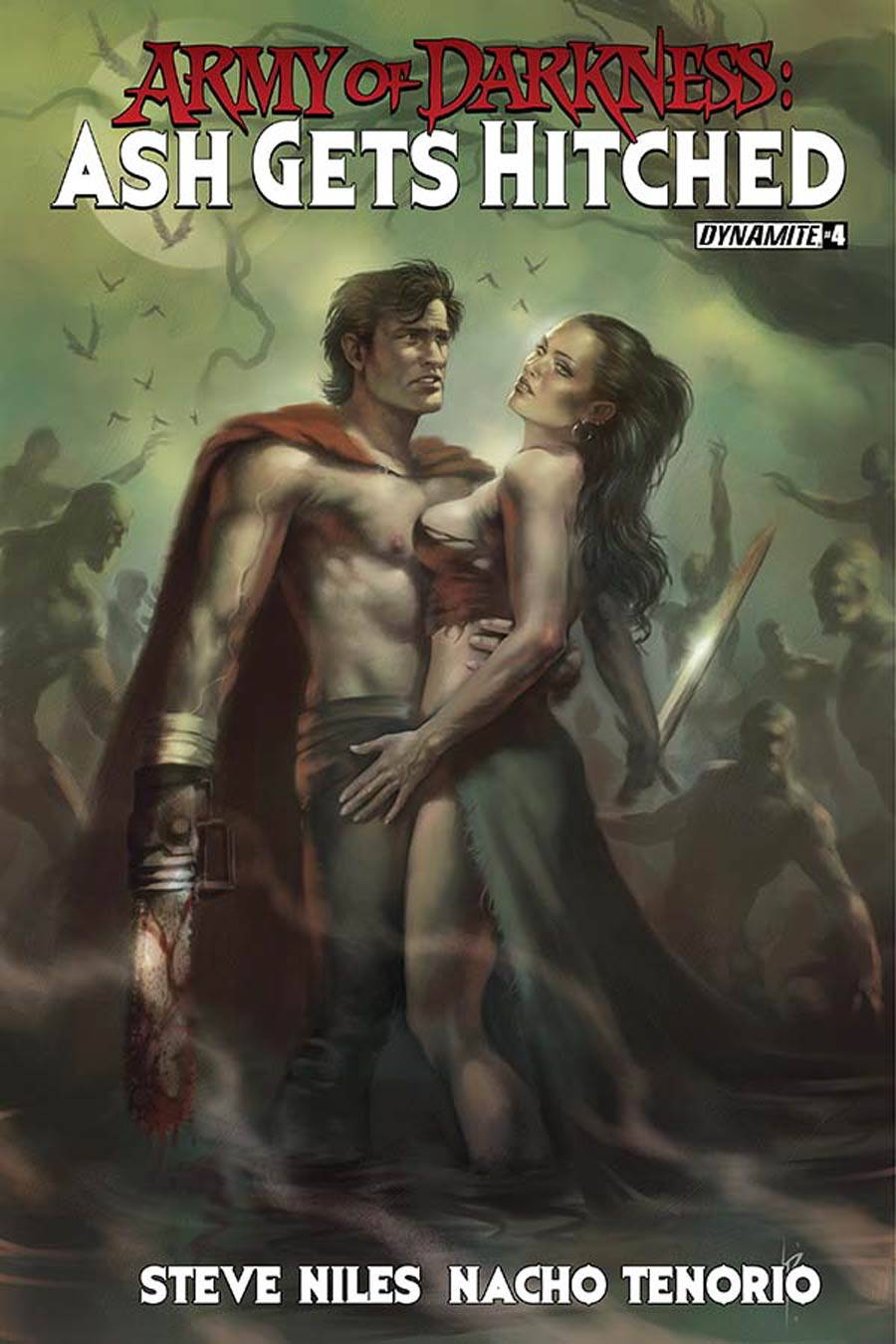 Army Of Darkness Ash Gets Hitched #4 Cover C Variant Lucio Parrillo Subscription Cover