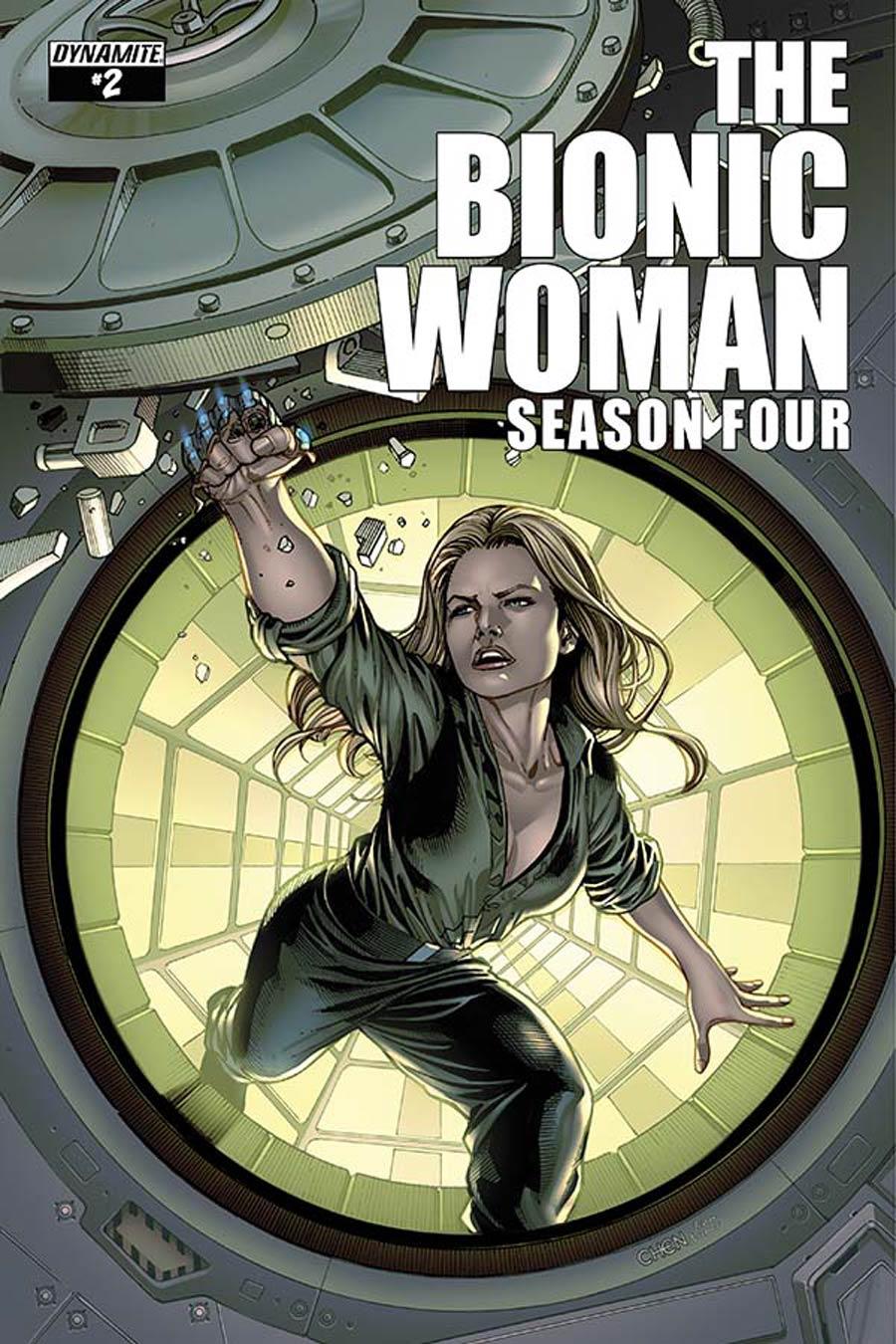 Bionic Woman Season 4 #2 Cover A Regular Sean Chen Cover