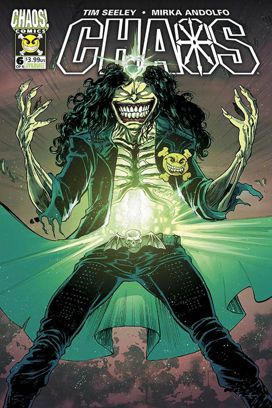 Chaos #6 Cover B Variant Tim Seeley Cover
