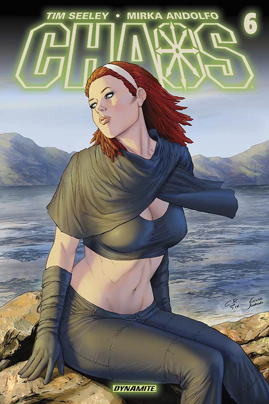 Chaos #6 Cover D Variant Carlos Rafael Subscription Cover