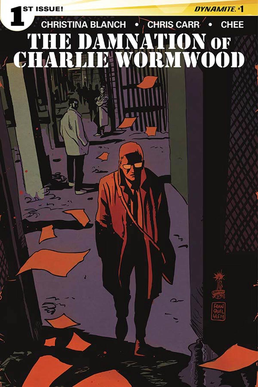 Damnation Of Charlie Wormwood #1 Cover A Regular Francesco Francavilla Cover