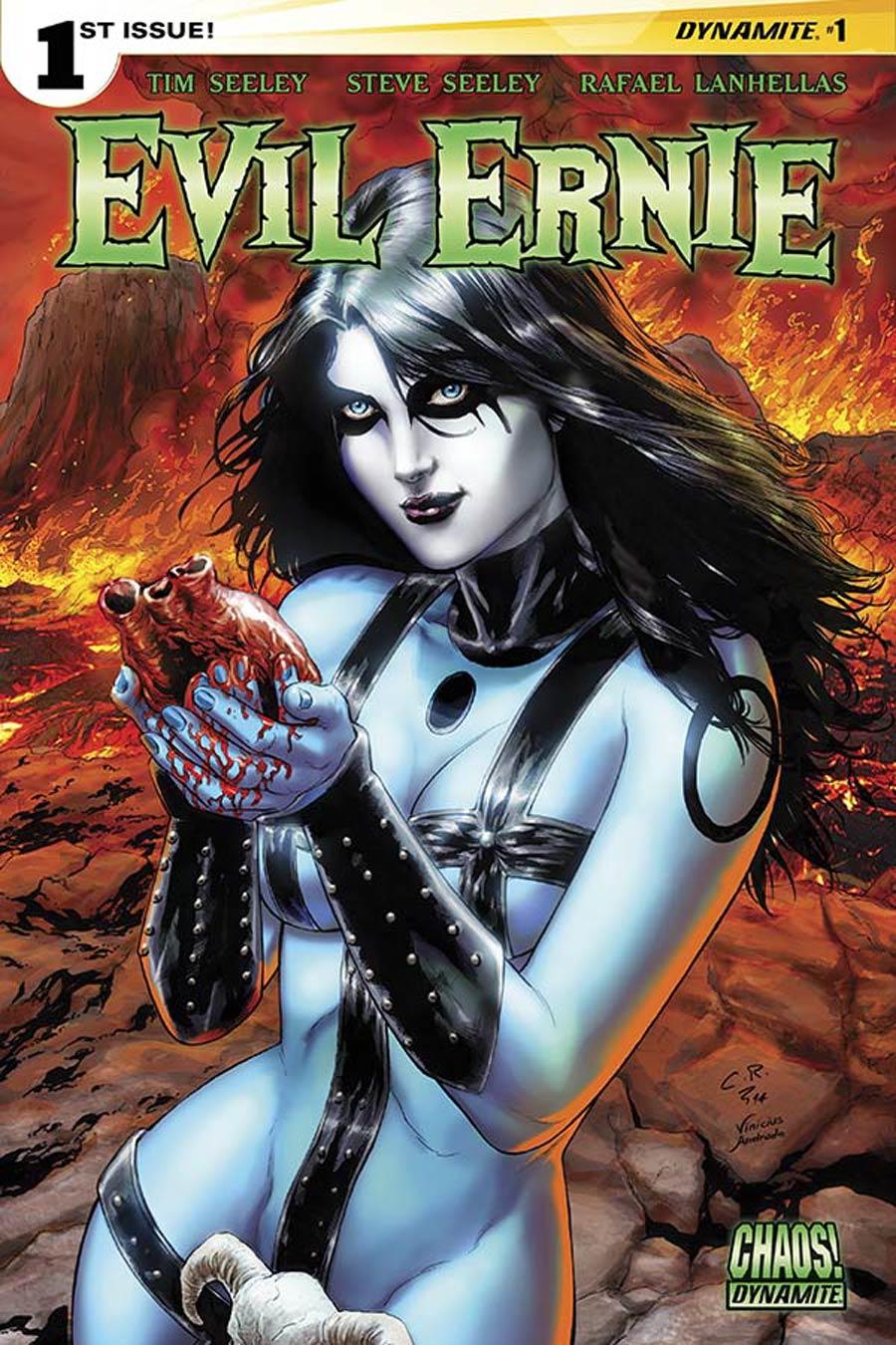 Evil Ernie Vol 4 #1 Cover B Variant Carlos Rafael Cover