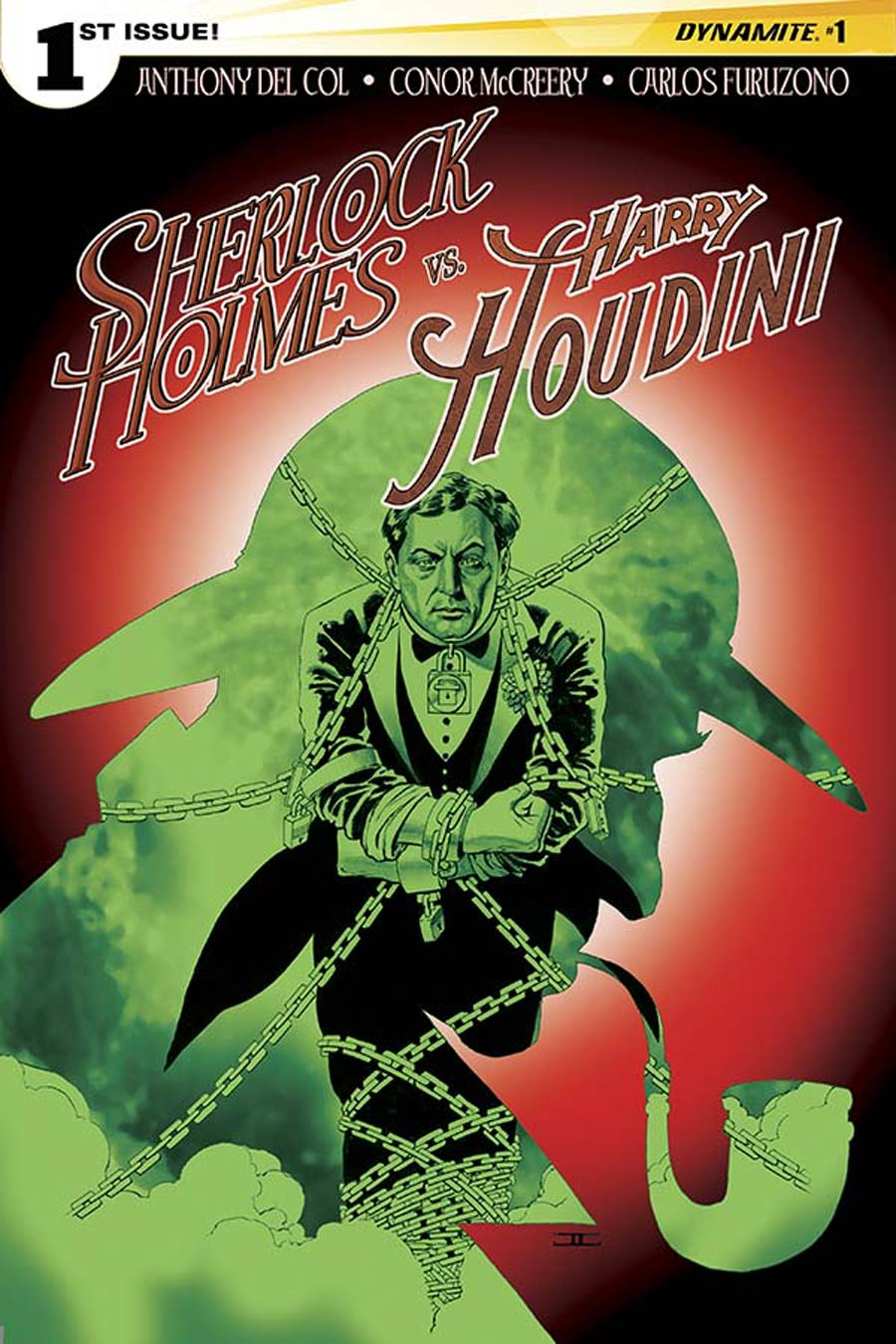 Sherlock Holmes vs Harry Houdini #1 Cover A Regular John Cassaday Cover