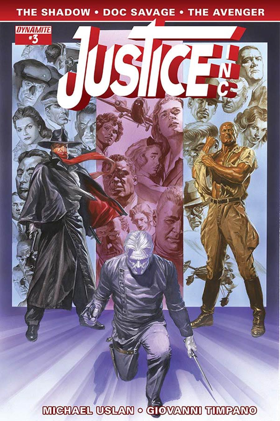 Justice Inc Vol 3 #3 Cover A Regular Alex Ross Cover