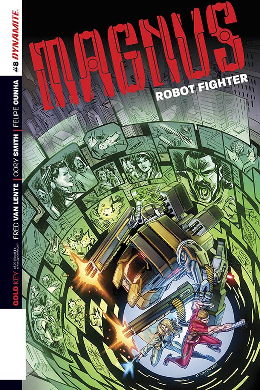 Magnus Robot Fighter Vol 4 #8 Cover B Variant Cory Smith Subscription Cover