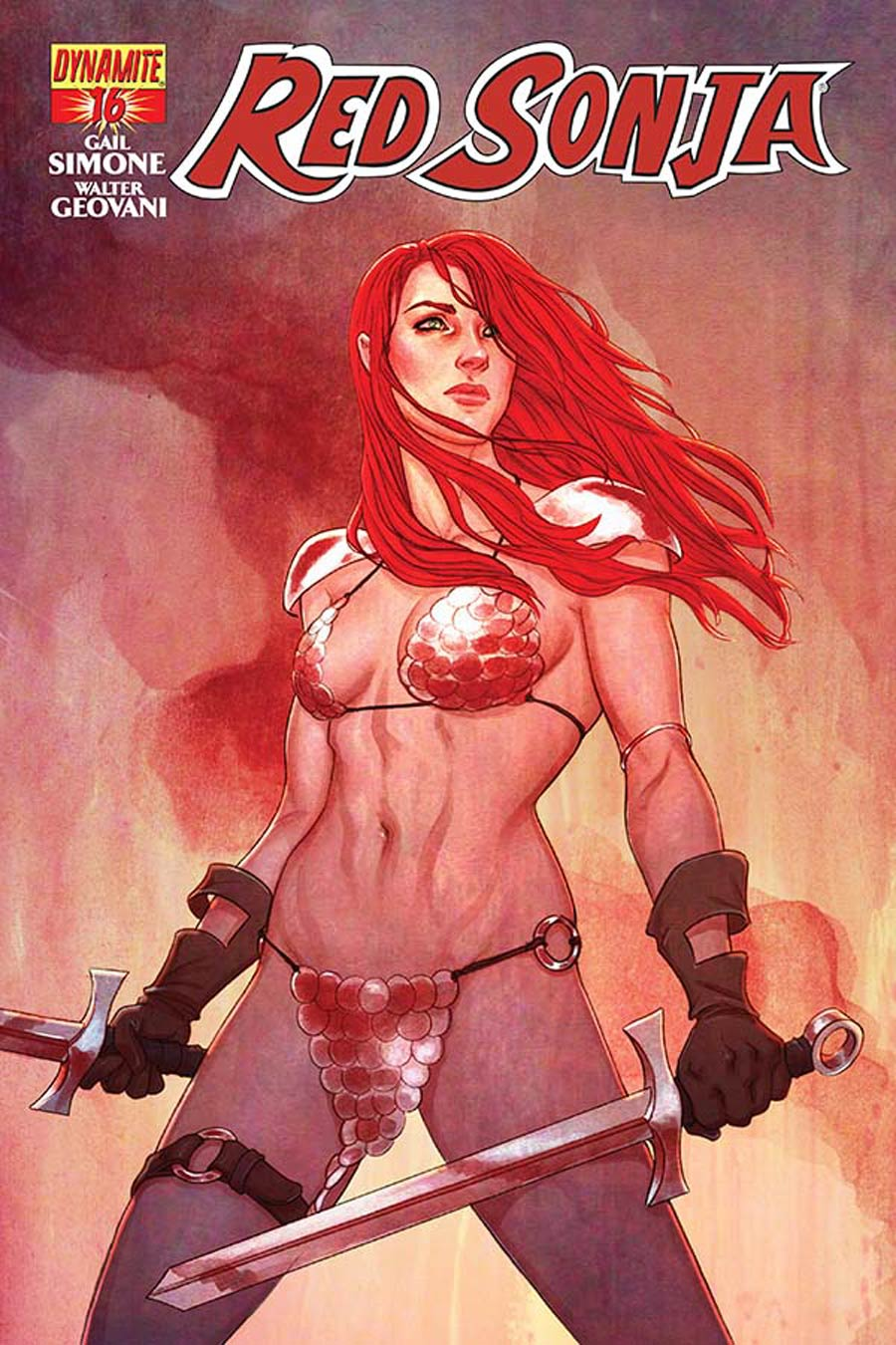 Red Sonja Vol 5 #16 Cover A Regular Jenny Frison Cover