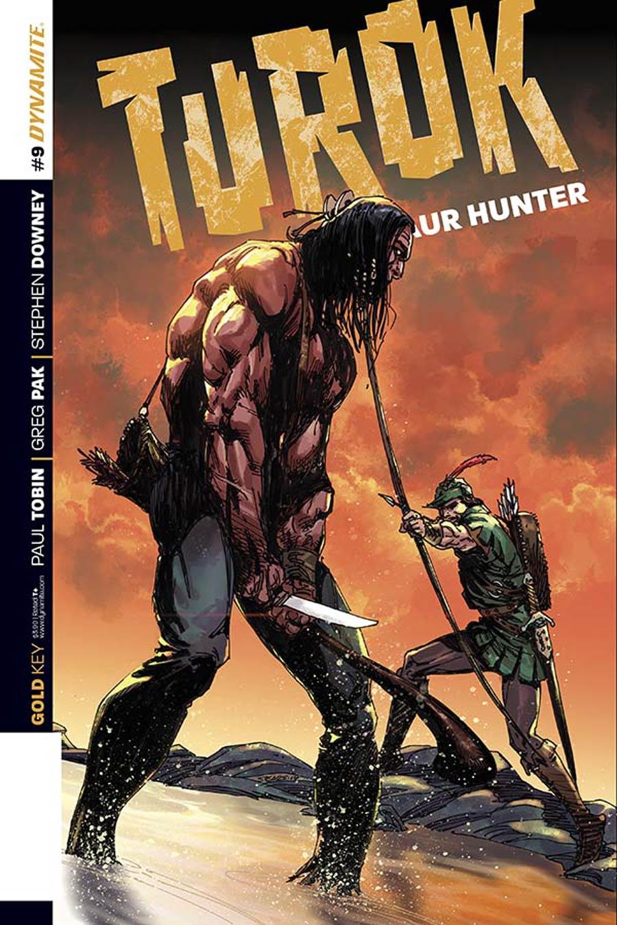 Turok Dinosaur Hunter Vol 2 #9 Cover A Regular Bart Sears Cover