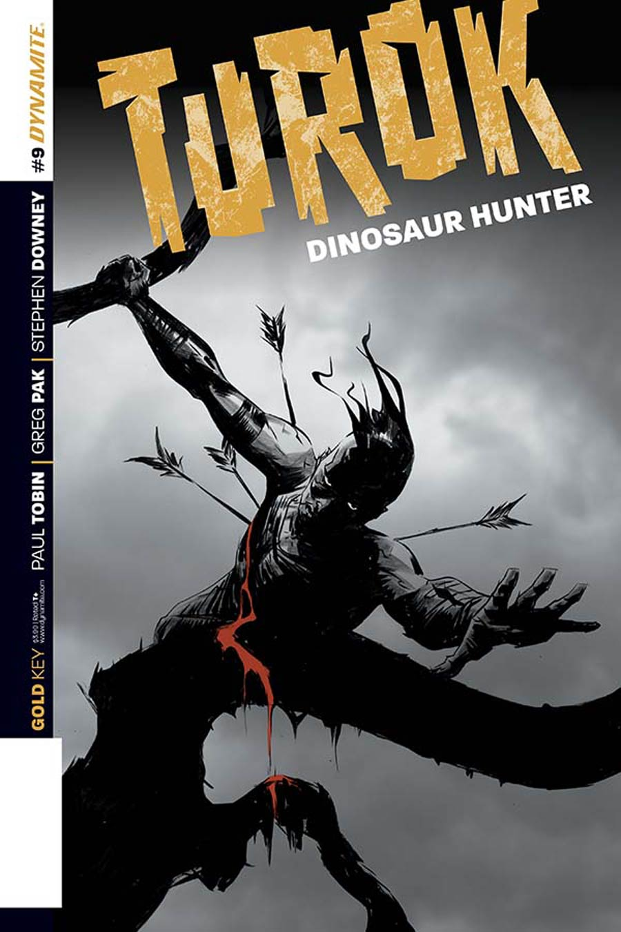 Turok Dinosaur Hunter Vol 2 #9 Cover B Variant Jae Lee Subscription Cover