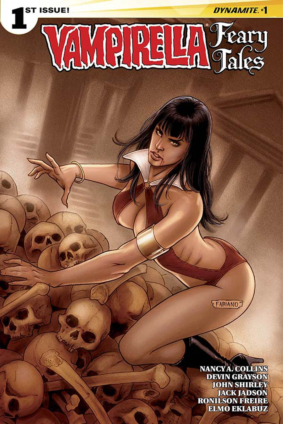Vampirella Feary Tales #1 Cover D Variant Fabiano Neves Cover