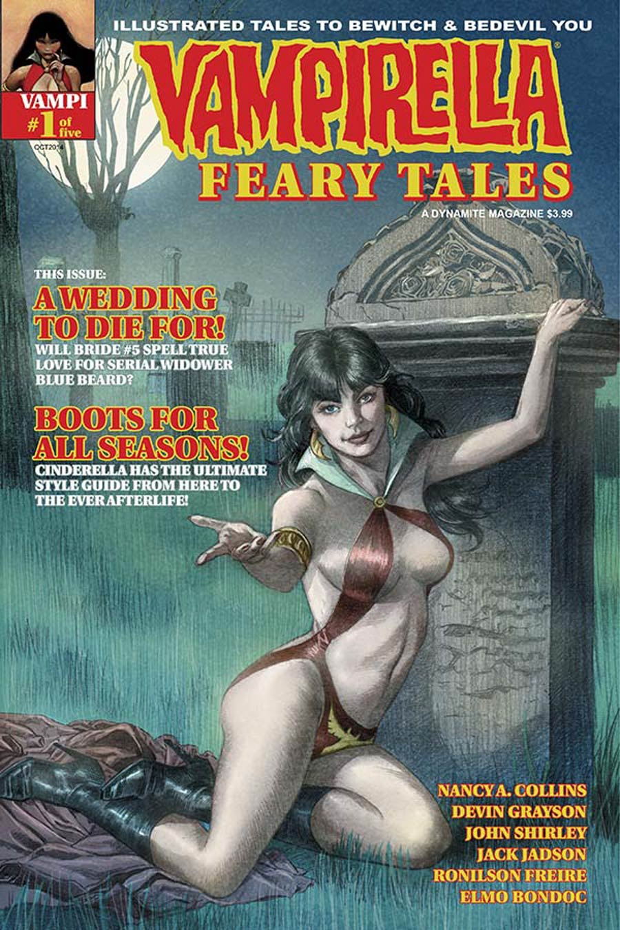 Vampirella Feary Tales #1 Cover E Variant David Roach Warren Years Subscription Cover
