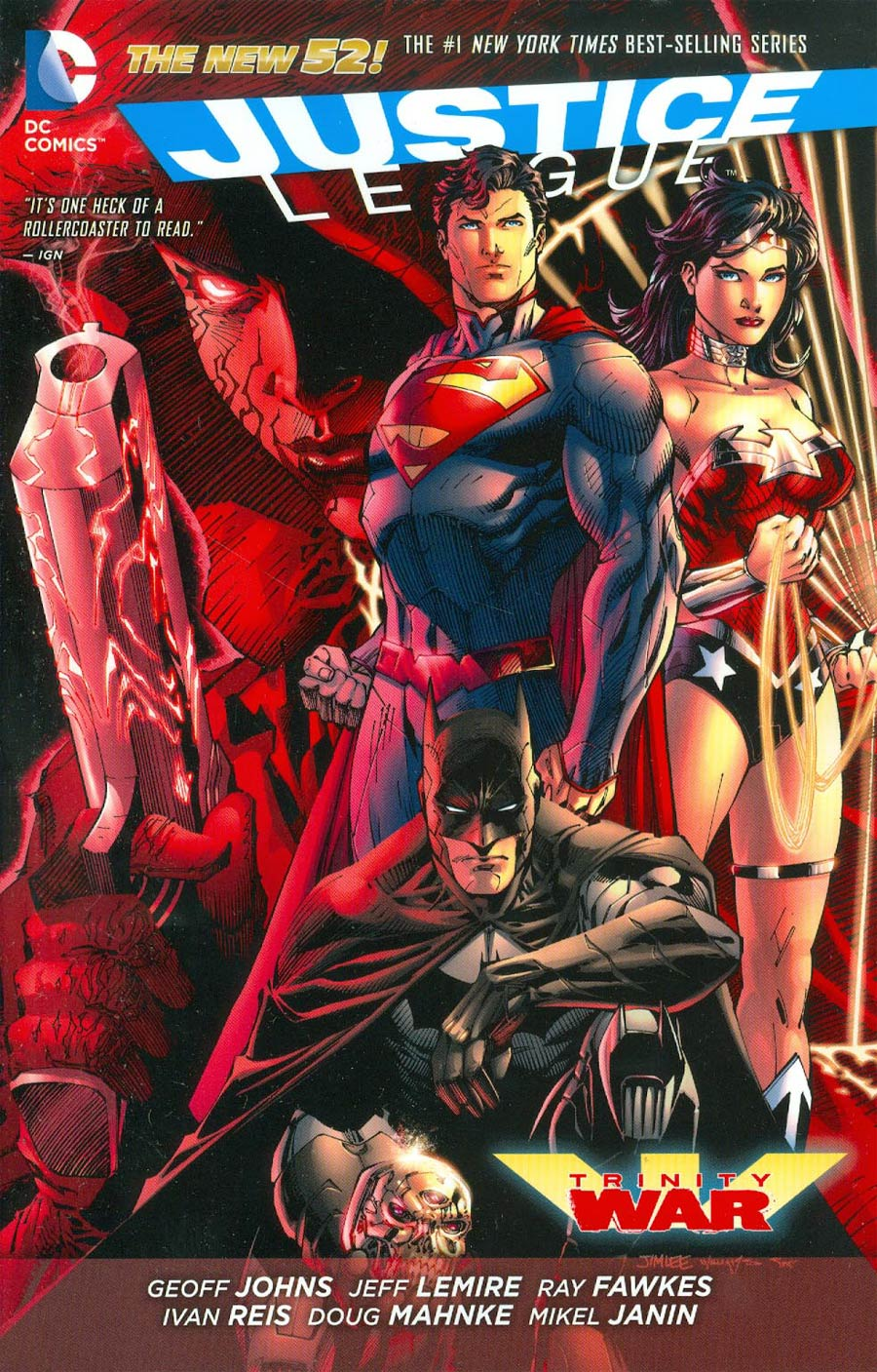 Justice League Trinity War TP (New 52)