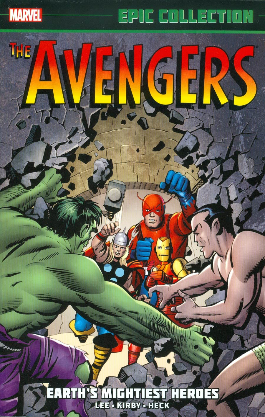 Avengers Epic Collection Vol 1 Earths Mightiest Heroes TP