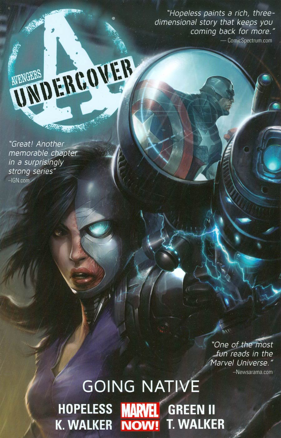 Avengers Undercover Vol 2 Going Native TP