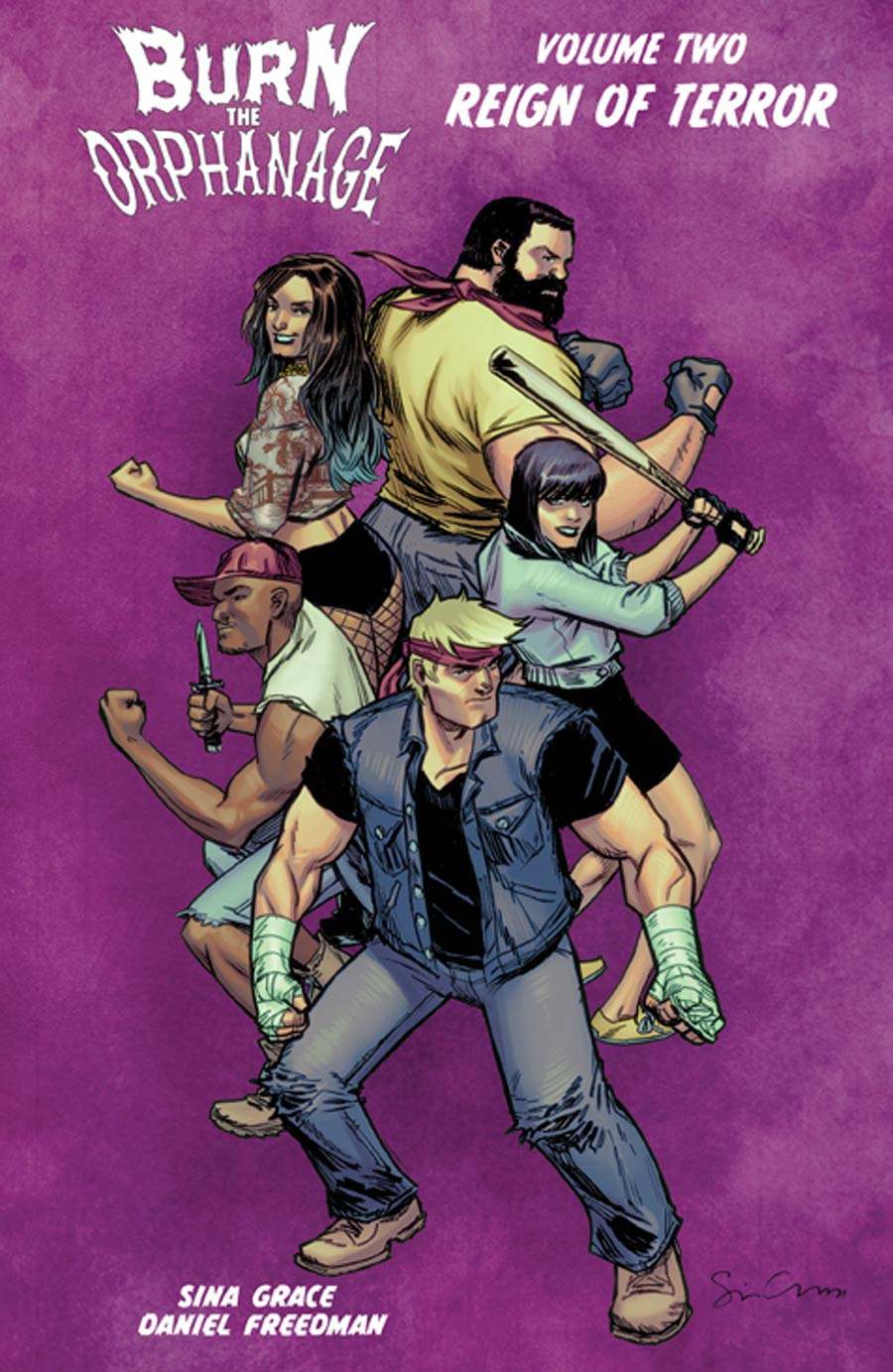 Burn The Orphanage Vol 2 Reign Of Terror TP