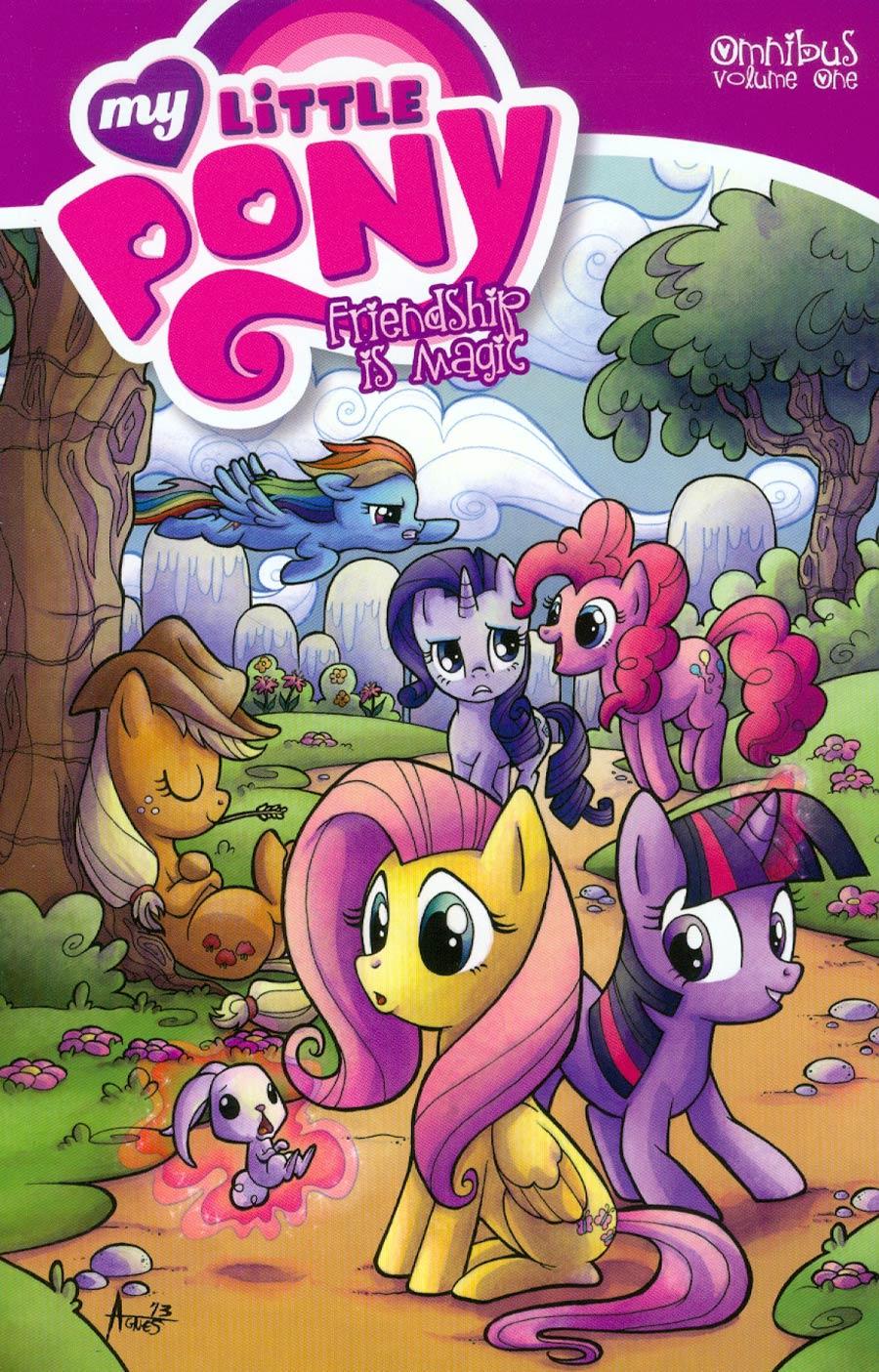 My Little Pony Friendship Is Magic Omnibus Vol 1 TP