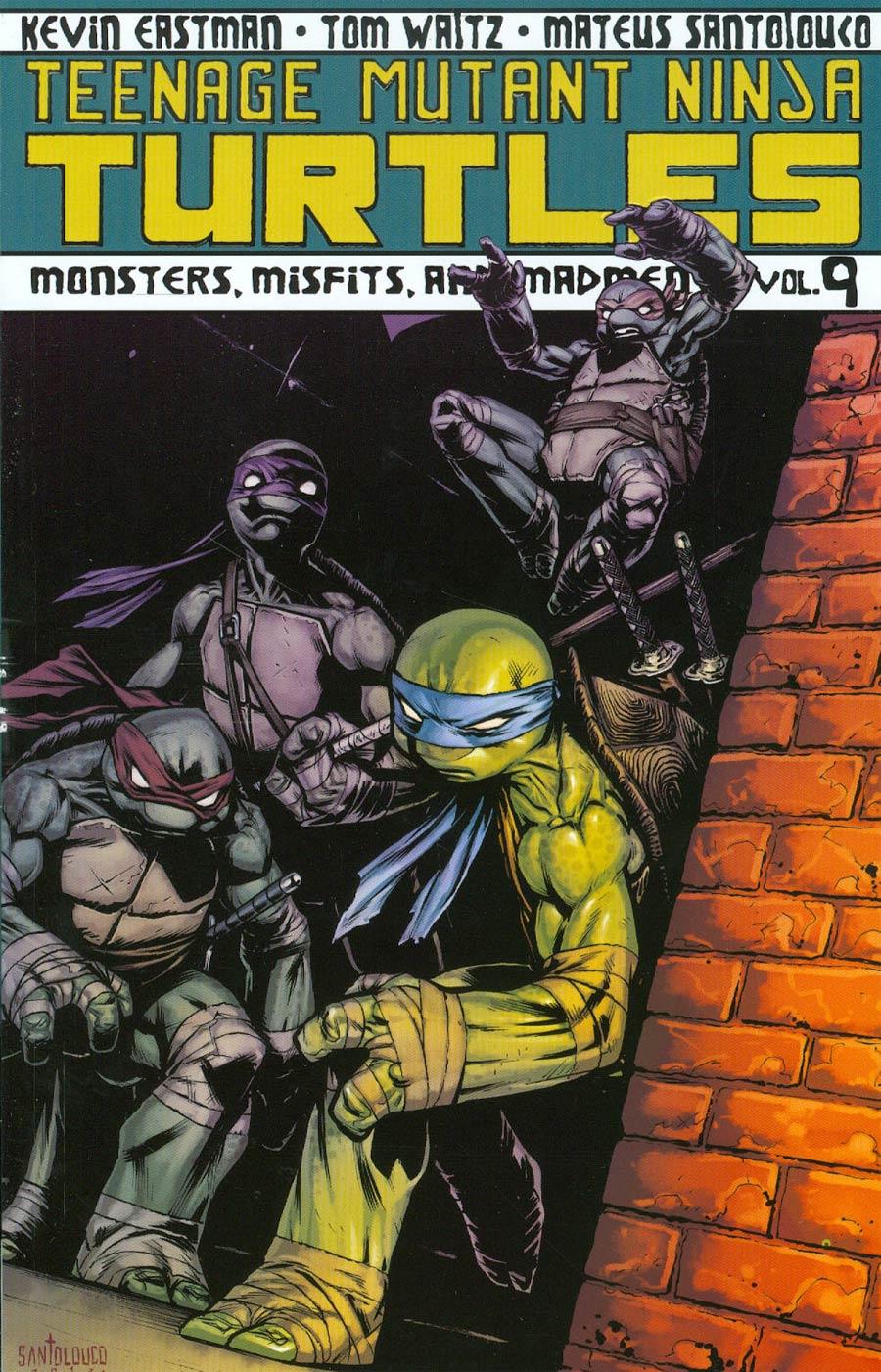 Teenage Mutant Ninja Turtles Ongoing Vol 9 Monsters Misfits And Madmen TP