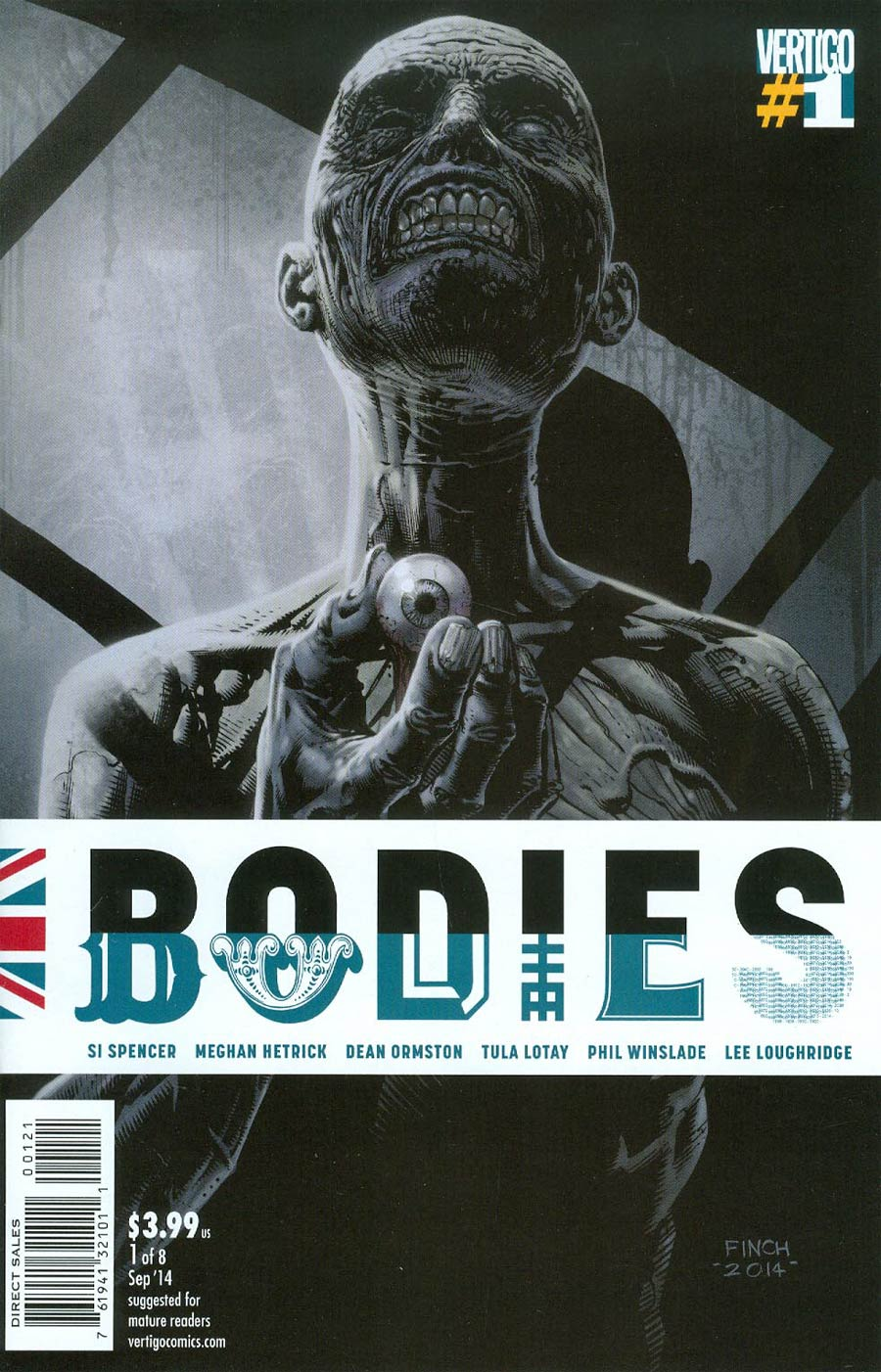 Bodies #1 Cover B Incentive David Finch Variant Cover