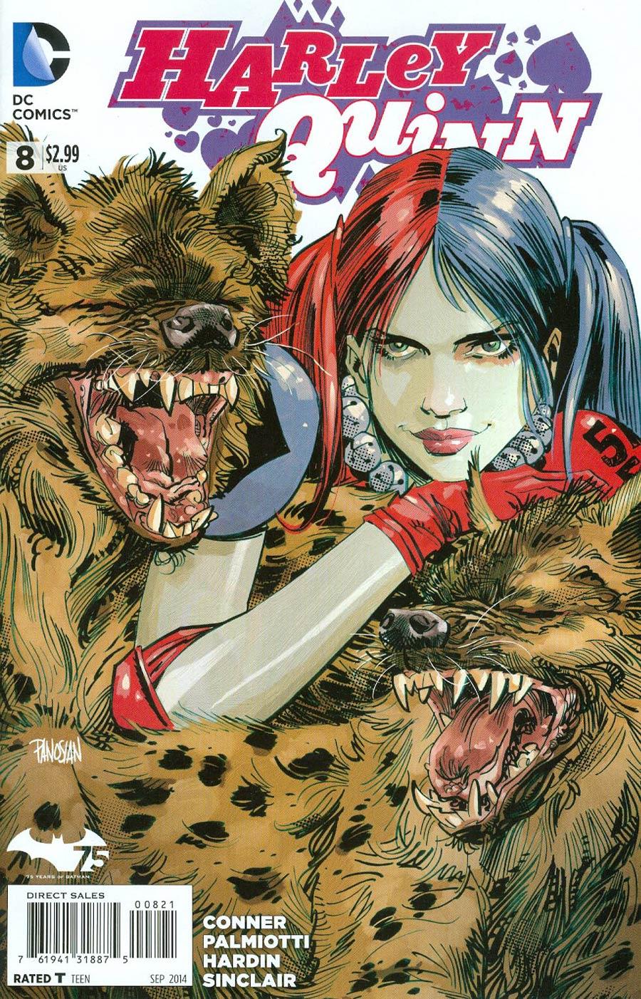 Harley Quinn Vol 2 #8 Cover C Incentive Dan Panosian Variant Cover