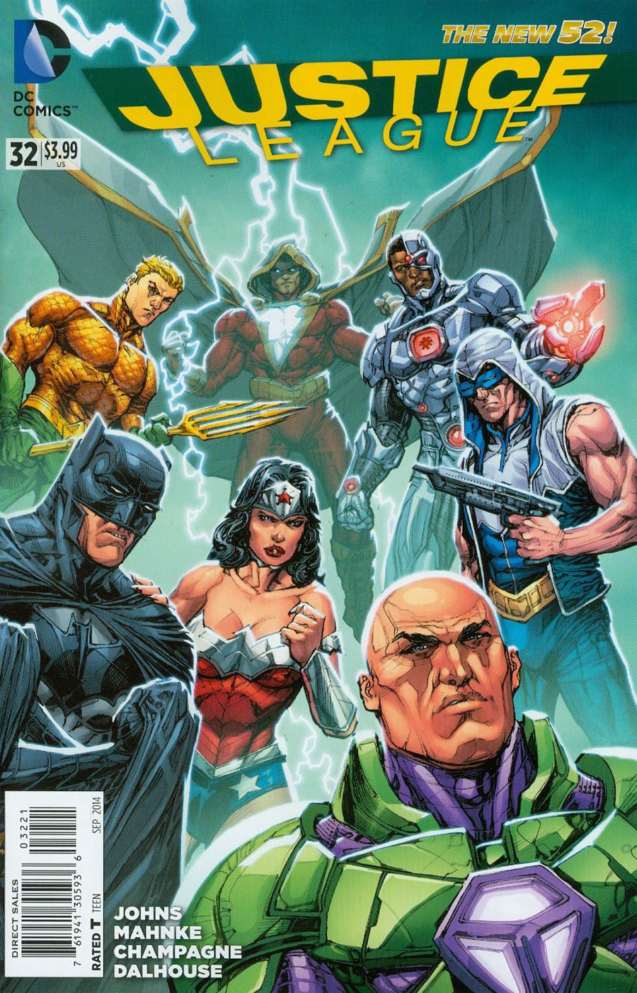 Justice League Vol 2 #32 Cover E Incentive Howard Porter Variant Cover