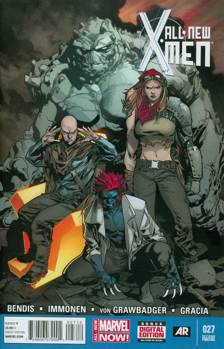 All-New X-Men #27 Cover D 2nd Ptg Stuart Immonen Variant Cover