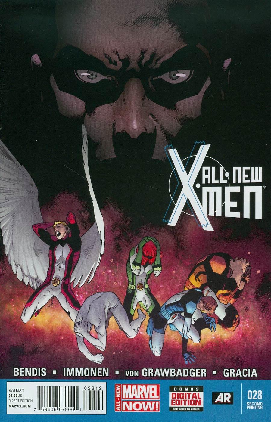 All-New X-Men #28 Cover B 2nd Ptg Stuart Immonen Cover