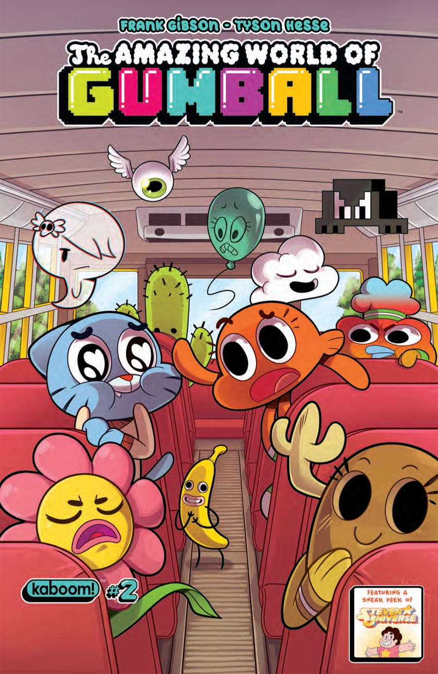 Amazing World Of Gumball #2 Cover A Regular Missy Pena Cover