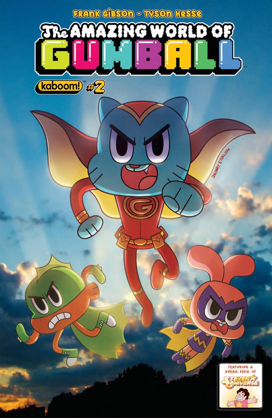 Amazing World Of Gumball #2 Cover B Regular Zachary Sterling Cover