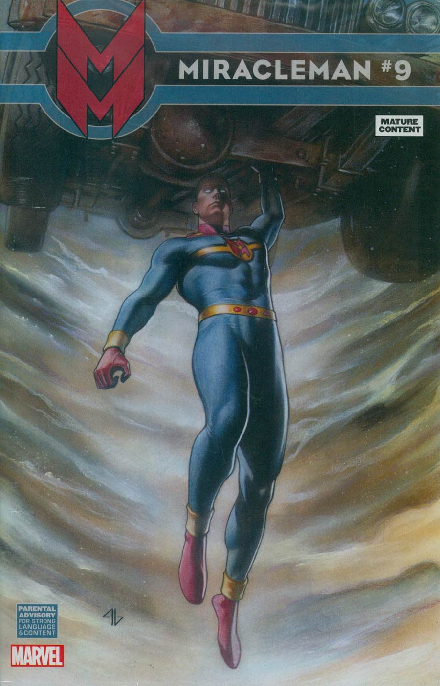 Miracleman (Marvel) #9 Cover C Incentive Adi Granov Variant Cover With Polybag