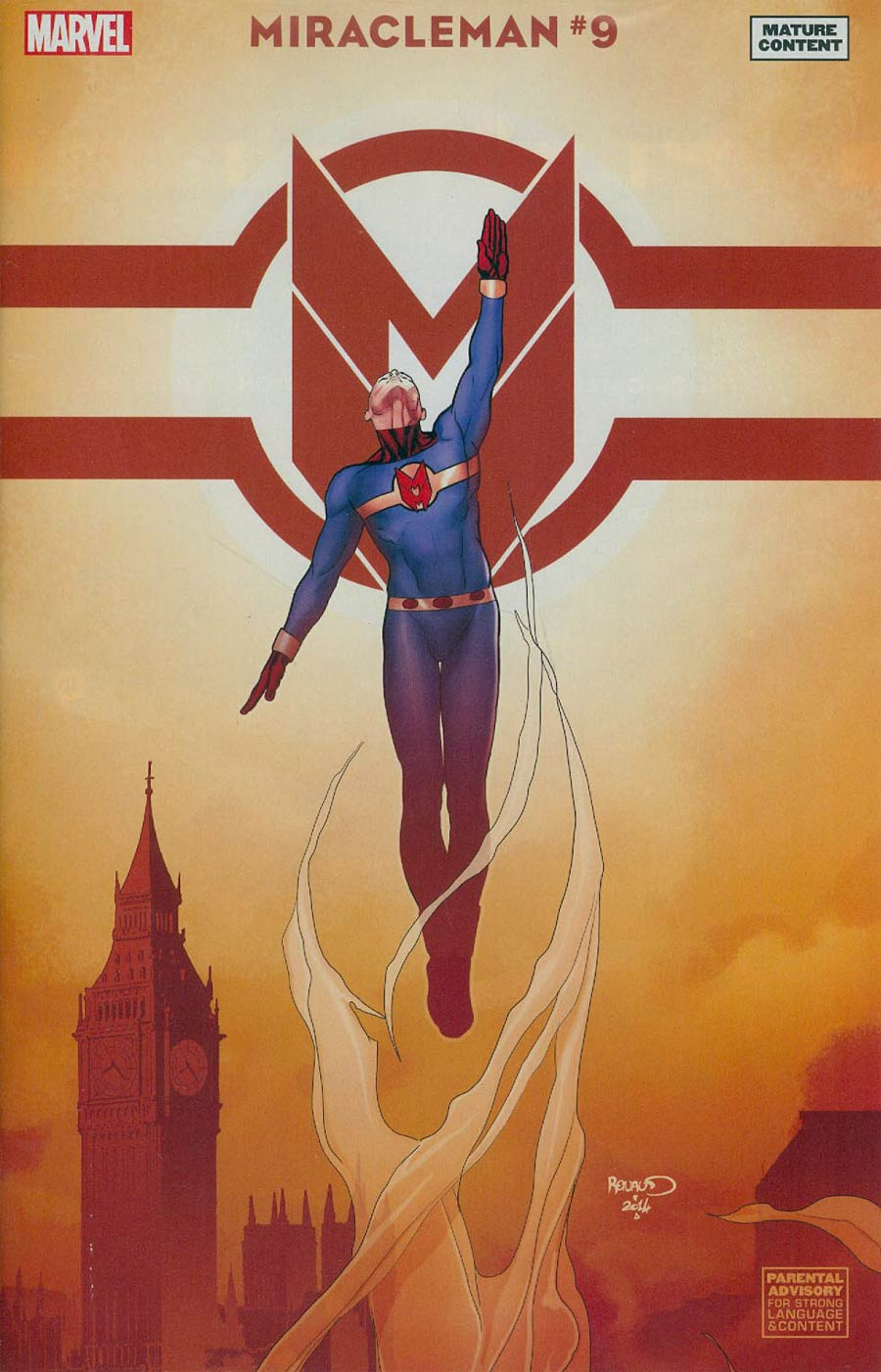 Miracleman (Marvel) #9 Cover D Incentive Paul Renaud Variant Cover With Polybag