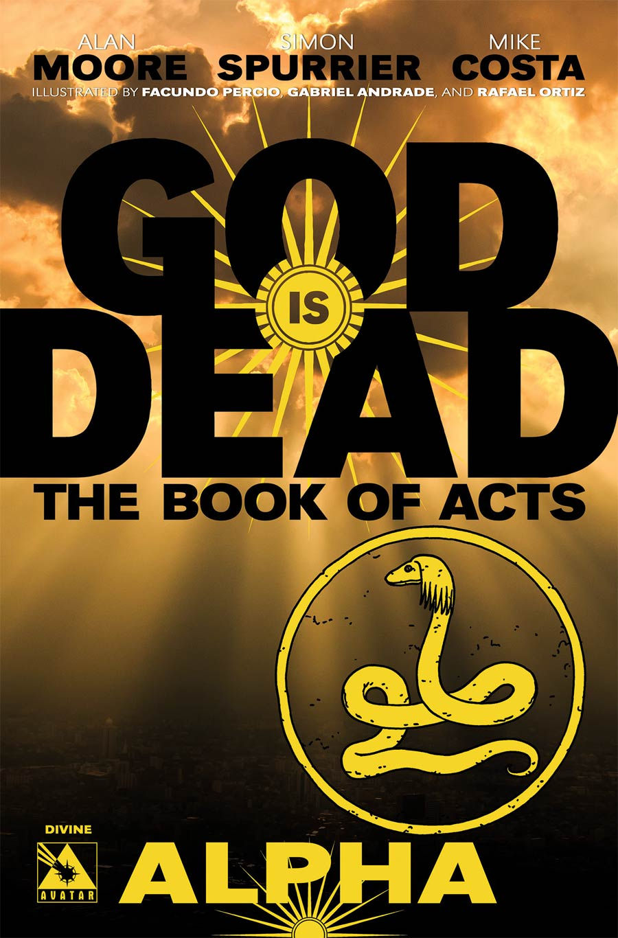 God Is Dead Book Of Acts Alpha Cover F Incentive Divine Cover