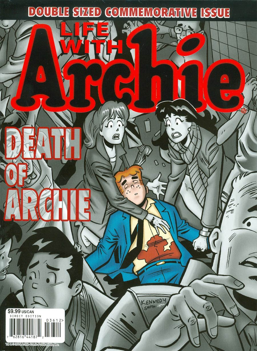 Life With Archie Vol 2 #36 Cover G 2nd Ptg Magazine Format (Also includes #37)