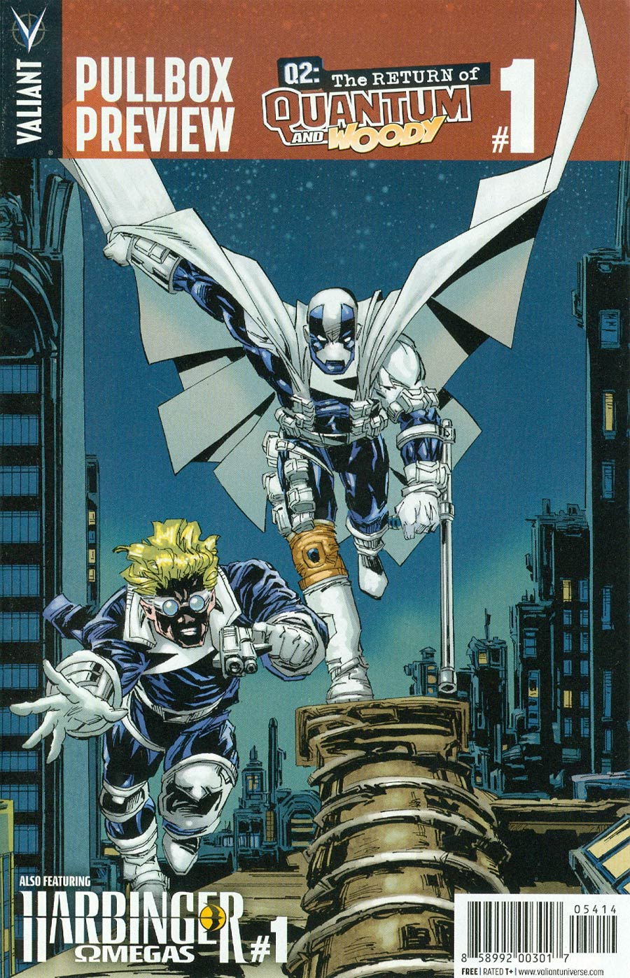 Valiant First Pullbox Preview - Q2 Return Of Quantum & Woody #1