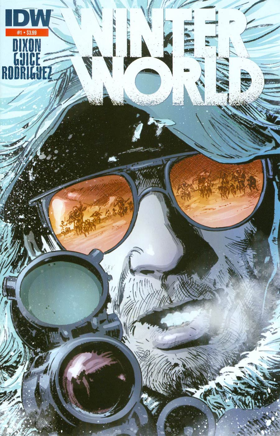 Winterworld Vol 2 #1 Cover C 2nd Ptg Butch Guice Variant Cover